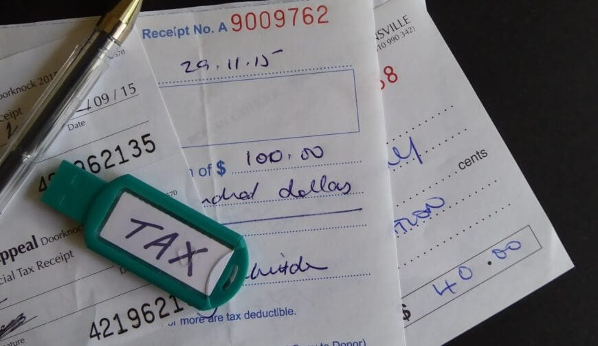 tax charity