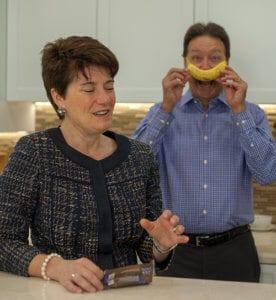 Evelyn and Mark banana
