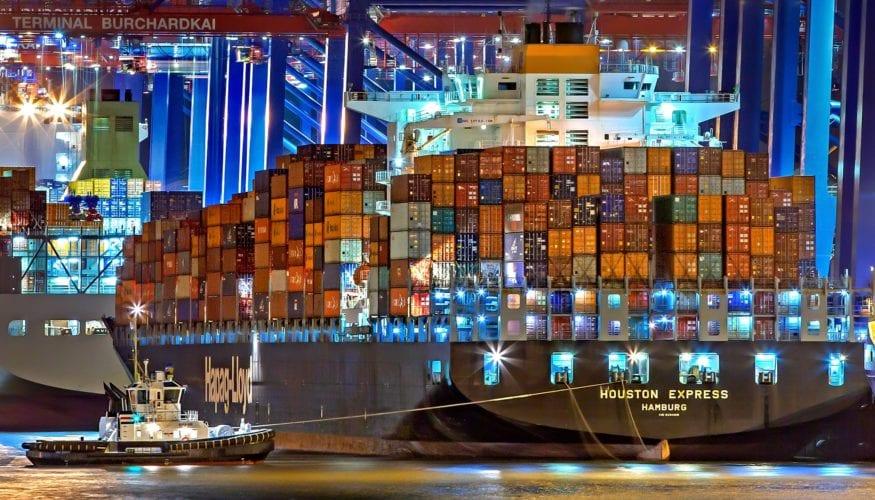 cargo container ships